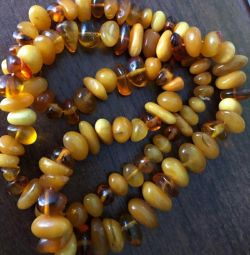 Beads amber vintage
