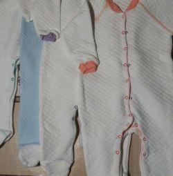 Overalls for children.