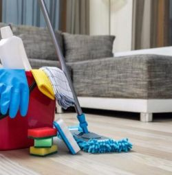 Cleaning of apartments, houses, offices ...