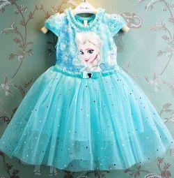 Rochie de carnaval Elsa, Anna, Frozen