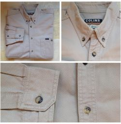 Рубашка джинсовая Colins р.50-52 100 хлопок