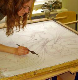 Индивидуальные занятия рисования с детьми