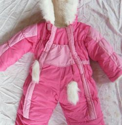 Winter overalls height 74-80