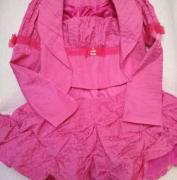 Three piece suit for girl