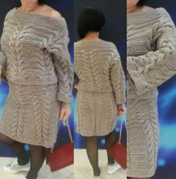 Knitted women's costume