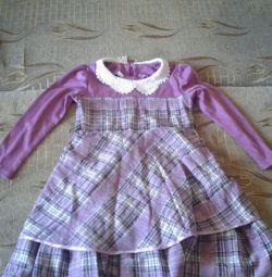 Платье на осень 6-7 лет