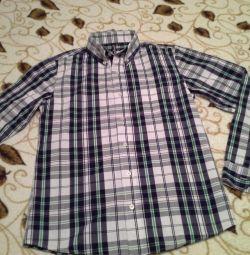 Рубашка в клетку Gloria Jeans на юношу