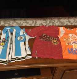 T-shirts for 5-6 years