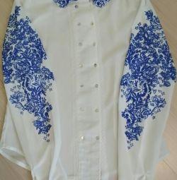 Γυναικεία μπλούζα σιφόν