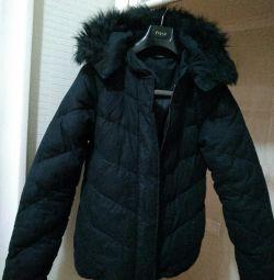 Jacket / parka. BLANK NOIR.