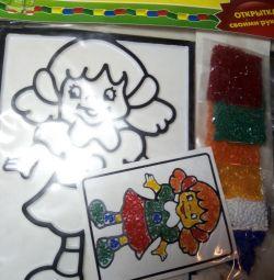 Creative set for children.