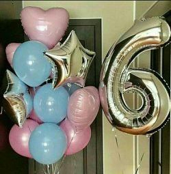 Μπαλόνια ηλίου, μπαλόνια για τις 14 Φεβρουαρίου