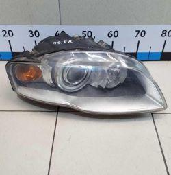 Headlight right Audi A4 B7