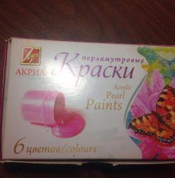 Paints Acryl Beam 6 colors