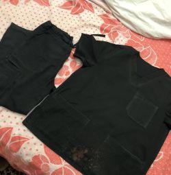 Black Medical Suit Cherokee
