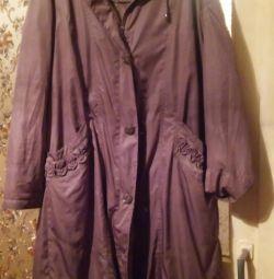 Παλτό βελούδινο εσωτερικό, μέγεθος 56-58