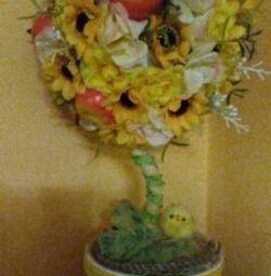 İyi şanslar için dekoratif ağaç.