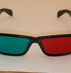 Anaglyph glasses for the treatment of vision