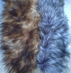 Fur artificial and natural