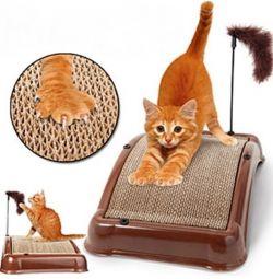Kogtetochka pentru pisici Emerycat Board 3 in 1