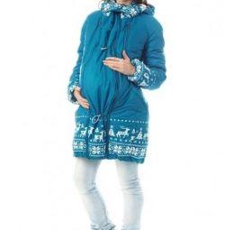 Jacket pentru femeile însărcinate / slingokukurtka 3v1 Mams era