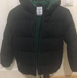 Down jacket on a boy p. 146