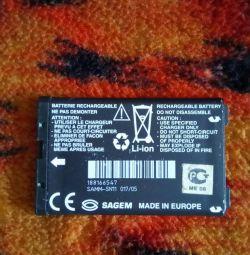 Батарея до Sagem.