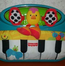 Пианино для малыша fisher-price