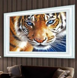 Алмазна вишивка, Тигр