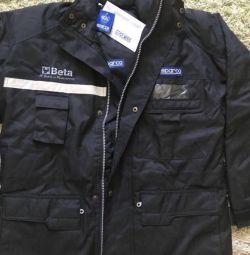 Jacket for men (auto-moto) racing professional.