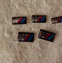 Ορίστε το λογότυπο του αυτοκόλλητου ετικέτρου 3D στη BMW New