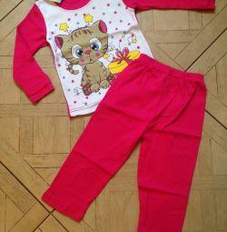 Νέα πιτζάμες για 1-4g