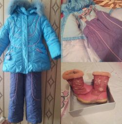 Winter suit for children