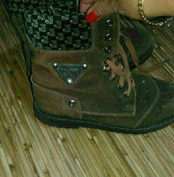 Boots nubuck