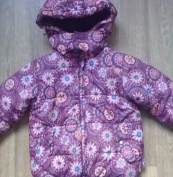 Playtoday winter jacket with mittens
