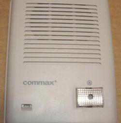 Apelarea interfonului audio din panoul DR-201D