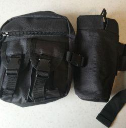 Bag tactical urban belt small
