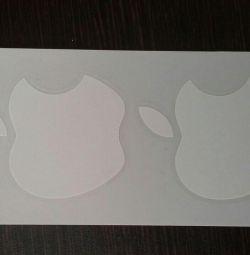 наклейки Apple