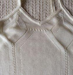 Платье новое летнее, Италия, вискоза р. 42