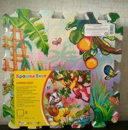 Mat puzzles for children
