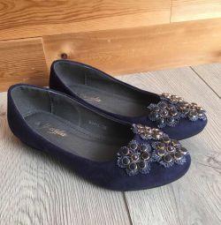 Νέα παπούτσια μπαλέτου 37-40