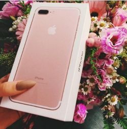 IPhone 7 Plus ροζ 128 GB