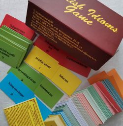 Game (set of cards) English Idioms game