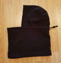 Шапка-шарф для бега