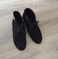 Boots suede 41 size