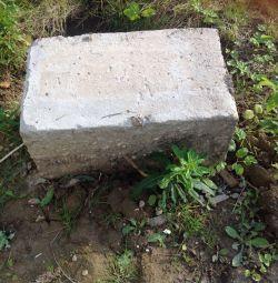 Blocuri de beton utilizate
