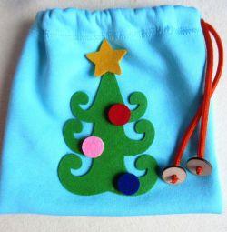 Τσάντα δώρων (μπλε)