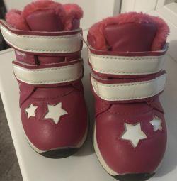 Ζεστά πάνινα παπούτσια