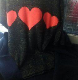 Cardigan + sweater