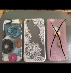 Чехол бампер силиконовый на iPhone 6/6S, новый